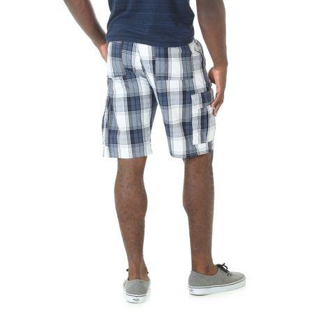 Wrangler Men's Plaid Cargo Shorts | Walmart.ca