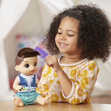 Baby Alive Sweet Spoonfuls Baby Doll Boy (br)   Walmart Canada