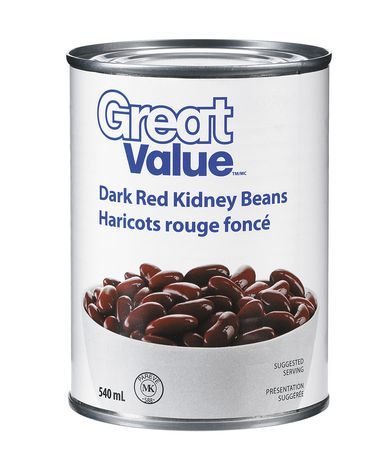 Great Value Dark Red Kidney Beans - image 1 of 2
