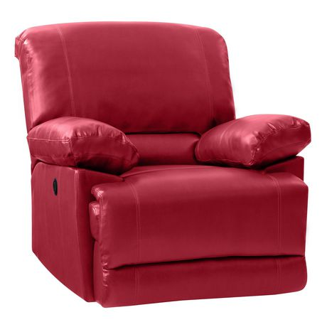 CorLiving Lea Bonded Leather Power Recliner With USB Port - image 2 of 6