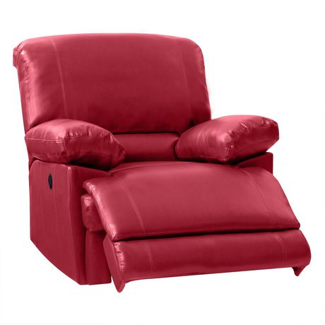 CorLiving Lea Bonded Leather Power Recliner With USB Port - image 3 of 6