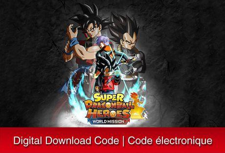 Super Dragon Ball Heroes World Mission Nintendo Switch Digital