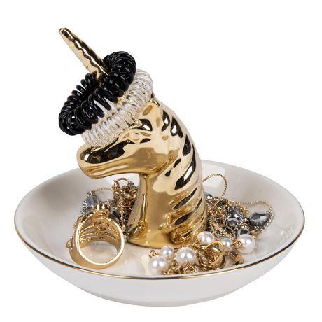 Gold Unicorn Trinket Tray - image 3 of 3