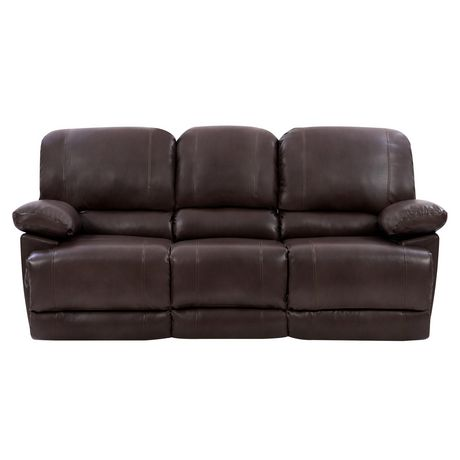 Fabulous Corliving Lea Bonded Leather Power Reclining Sofa With Usb Port Interior Design Ideas Apansoteloinfo