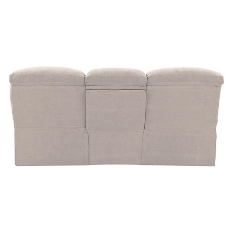 CorLiving Plush Power Reclining Chenille Fabric Sofa with Fold-Down Console and Cupholders with USB Port - image 5 of 9