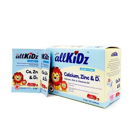 allKiDz Calcium, Zinc & Vitamin D3 - image 2 of 4