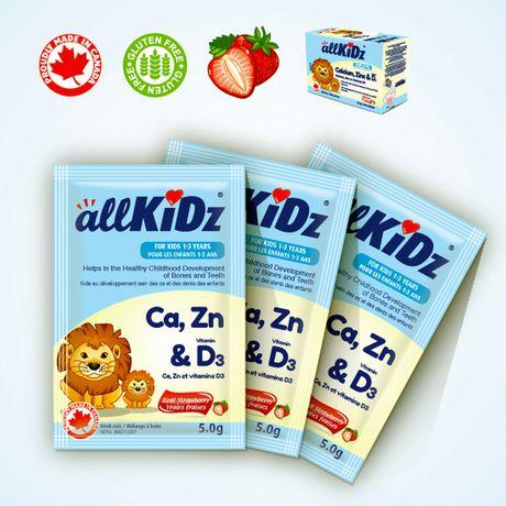 allKiDz Calcium, Zinc & Vitamin D3 - image 4 of 4