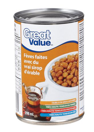 Great Value Baked Beans in Maple syrup - image 2 of 2