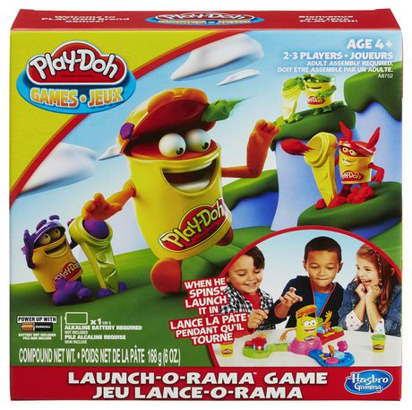 Hasbro Gaming Play-Doh Launch GAME - image 1 of 3