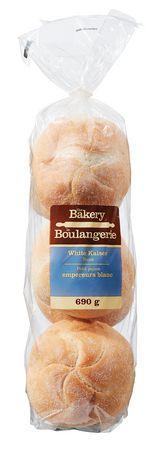 The Bakery White Kaiser Buns - image 1 of 3
