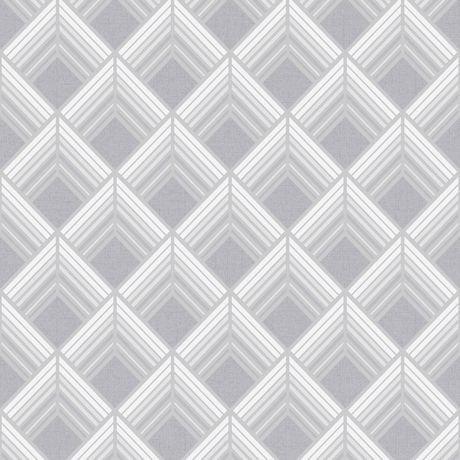 graham brown trifina geo argent blanc gris papier peint amovible walmart canada. Black Bedroom Furniture Sets. Home Design Ideas