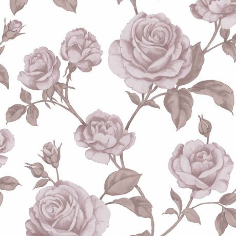 graham brown comtesse rose blanc papier peint amovible walmart canada. Black Bedroom Furniture Sets. Home Design Ideas