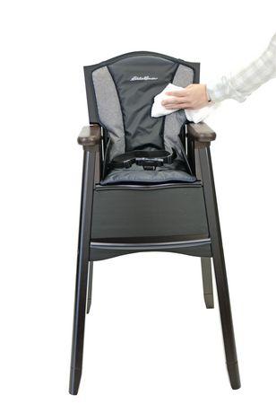 Eddie Bauer Wood High Chair Night Blue Walmart Canada