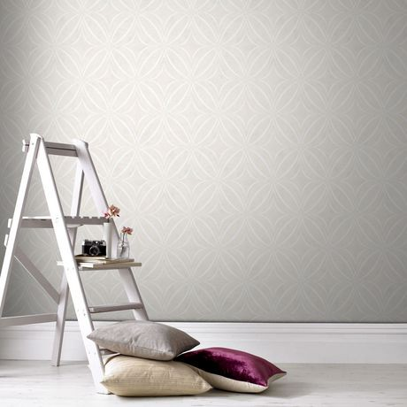 graham brown glitz g o taupe blanc papier peint amovible walmart canada. Black Bedroom Furniture Sets. Home Design Ideas