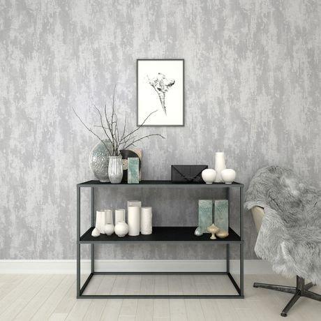 graham brown texture industrielle argent papier peint amovible walmart canada. Black Bedroom Furniture Sets. Home Design Ideas
