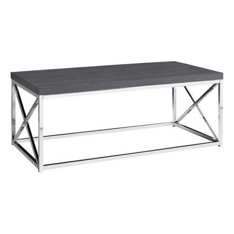 monarch specialties grey coffee table | walmart.ca