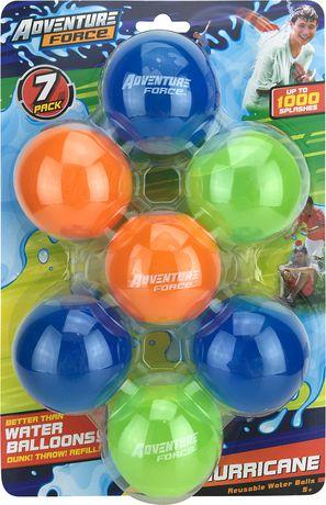 Adventure Force 7 Pack Hurricane Reusable Water Balls Balloons