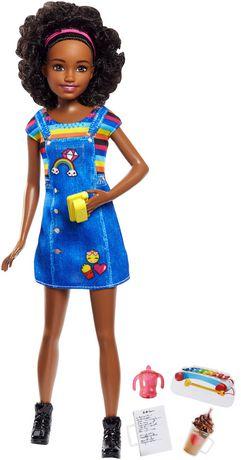Barbie Babysitting Dolls & Coffee Accessories - Curls - image 1 of 9