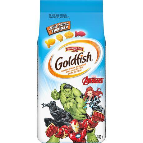 Goldfish Marvels Avengers Cheddar Crackers - image 1 of 6