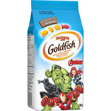 Goldfish Marvels Avengers Cheddar Crackers - image 2 of 6