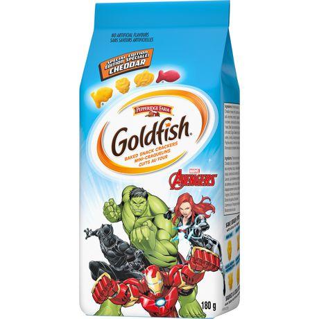 Goldfish Marvels Avengers Cheddar Crackers - image 3 of 6