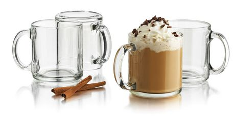 Libbey Glass Coffee Mug set/4 | Walmart Canada
