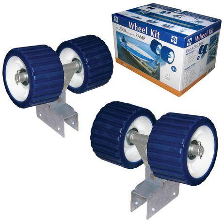 "Multinautic 5"" Wheel Kit for 2000lbs Capacity Ramp - image 1 of 3"