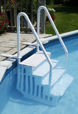 Marches Easy Pool Step Pour Piscines Hors Terre Walmart Ca