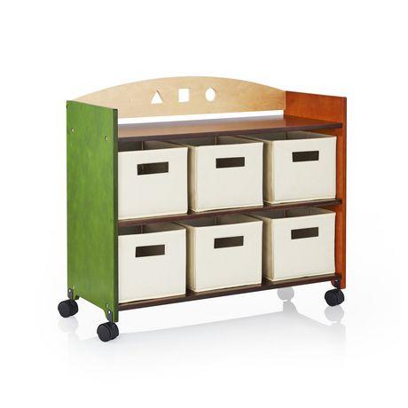 great guidecraft meuble de rangement sur roulette see and store walmart canada with meuble sur. Black Bedroom Furniture Sets. Home Design Ideas