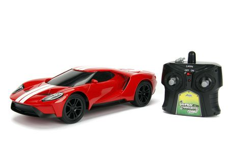 Jada Hypercharger R C  Ford Gt Toy Vehicle
