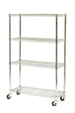 Seville Classics 4 Shelf Shelving Systems - image 1 of 2