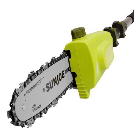 Sun Joe 20VIONLTE-PS8 Scie à chaîne à manche télescopique sans cordon | 8 po | 2.0-Ah | 20-V - image 6 de 6