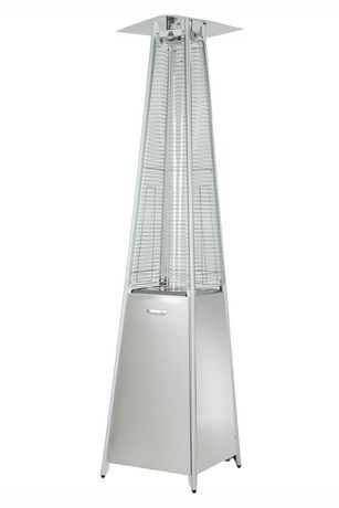 zentemp stainless steel glass tube propane patio heater walmart canada - Propane Patio Heater