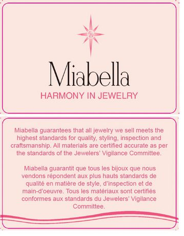 Miabella 0.38 Carat T.G.W. Created White Sapphire And Diamond Accent Sterling Silver Cross-Over Promise Ring - image 5 of 5