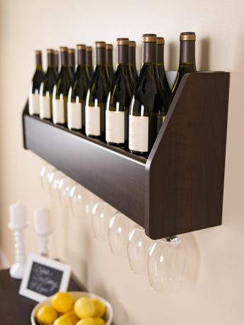 Floating Wine Rack Walmart Ca