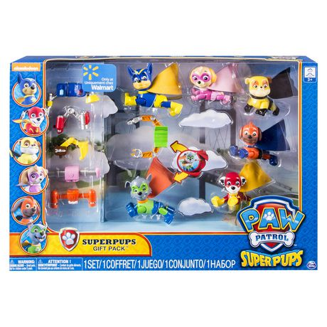 Paw Patrol Super Pups Gift Pack Walmart Exclusive