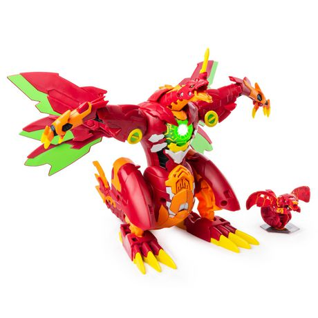 Bakugan, Dragonoid Maximus 8-Inch Transforming Figure with Lights and Sounds, for Ages 6 and Up - image 4 of 8
