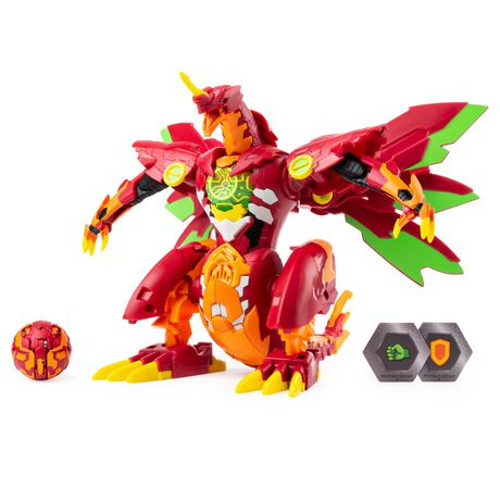 Bakugan, Dragonoid Maximus 8-Inch Transforming Figure with Lights and Sounds, for Ages 6 and Up - image 1 of 8