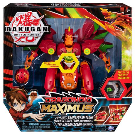 Bakugan, Dragonoid Maximus 8-Inch Transforming Figure with Lights and Sounds, for Ages 6 and Up - image 2 of 8