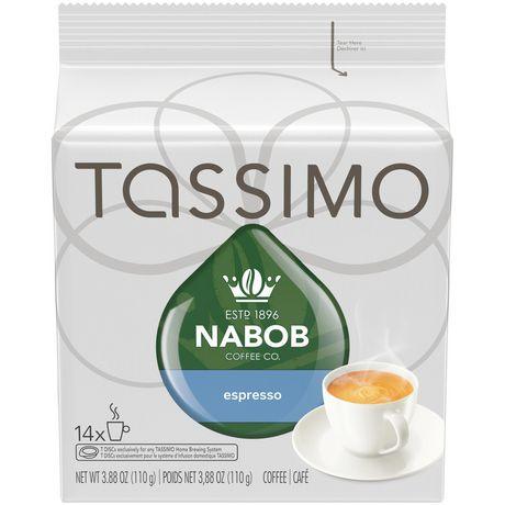 Disques individuels T DISC de café espresso Nabob Tassimo - image 1 de 5