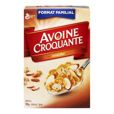 Oatmeal Crisp ™Almond Cereal Family Size - image 5 of 7