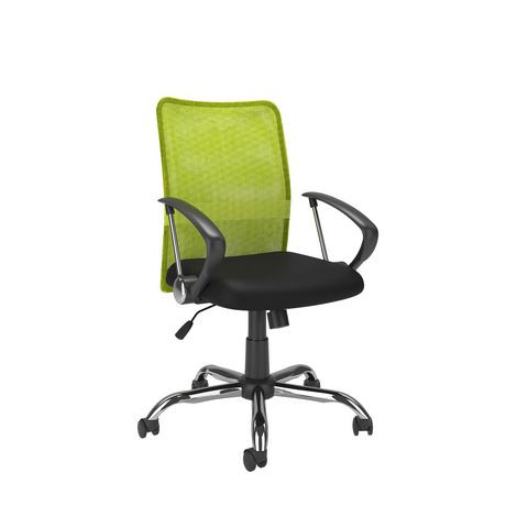 lime green office furniture. corliving workspace contoured lime green mesh back office chair walmart canada furniture