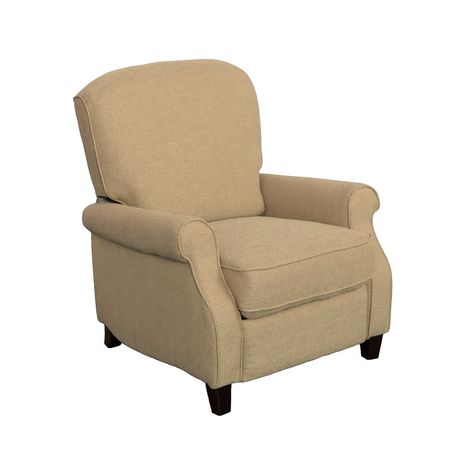 CorLiving Noah Linen Fabric Recliner - image 1 of 6