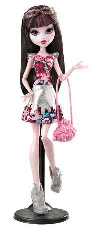 monster high boo york, boo york frightseers draculaura doll | walmart canada