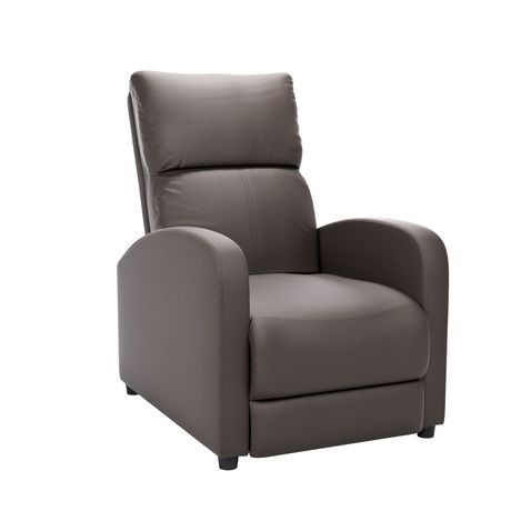 fauteuil inclinable corliving moor en cuir reconstitu. Black Bedroom Furniture Sets. Home Design Ideas