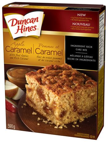 Can I Add Apple To Duncan Hines Cake Mix
