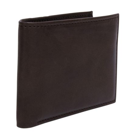 R70 Men's Genuine Slimfold Brown Wallet with Pull Id - image 2 of 6