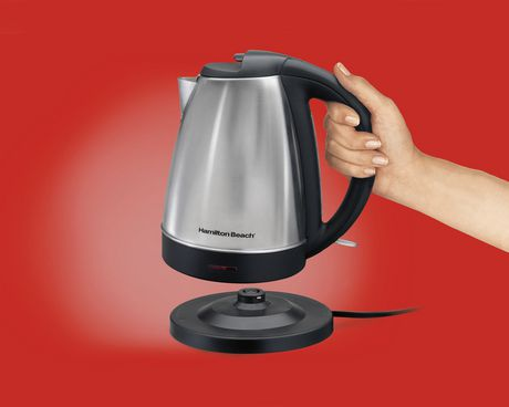 Hamilton Beach 40989C 1.7-L Cordless Stainless Steel Kettle - image 2 of 5