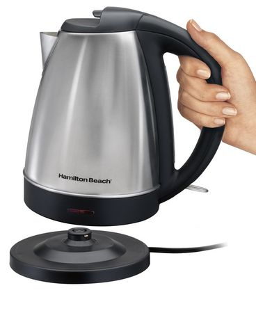 Hamilton Beach 40989C 1.7-L Cordless Stainless Steel Kettle - image 4 of 5