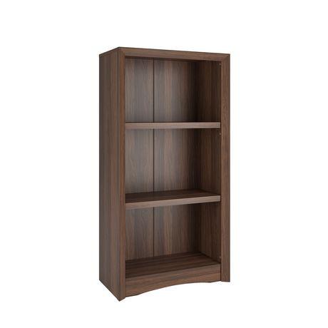 Biblioth que corliving quadra 47 po avec faux fini couleur for Faux fini meuble